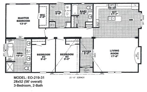 luxury floor plans for mobile homes new home plans design