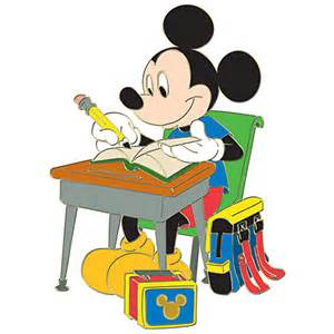 Back to school series mickey mouse pin disney store