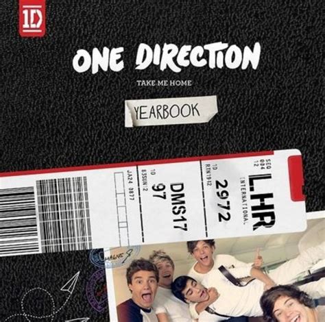 one direction reveal yearbook cover for new album take me