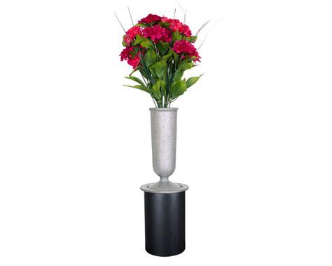 In Ground Cemetery Flower Vases by Memorial Vases Lawn Flush Ground Vases Gem U S