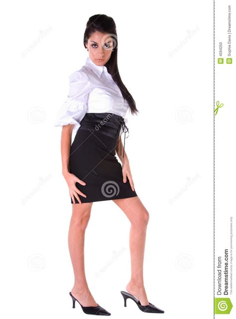 sexy business woman stock photo image