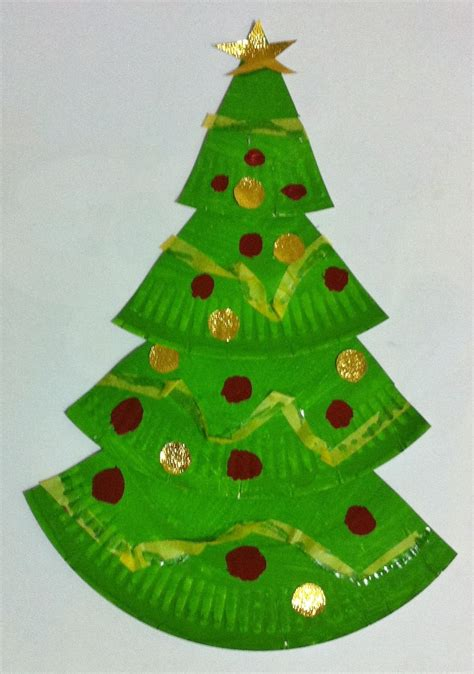 easy paper christmas crafts for kids craft get ideas