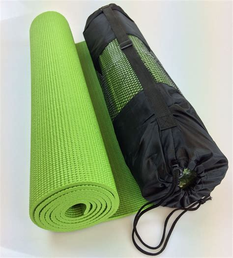 Mat 6mm Matras 6mm Free Bag mat soft 6mm thick nonslip exercise pilates physio workout with bag