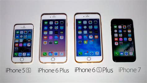 I Phone 6plus 6splus 7 7plus iphone 7 vs iphone 6s plus vs iphone 6 plus vs iphone 5s