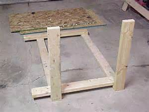 How to build a low cost sturdy work bench from 2x4 s and osb