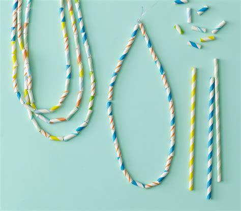Paper Straw Crafts - paper straw tutorials u create