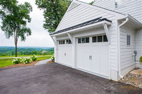 garage door awnings white hall renovations traditional garage other by
