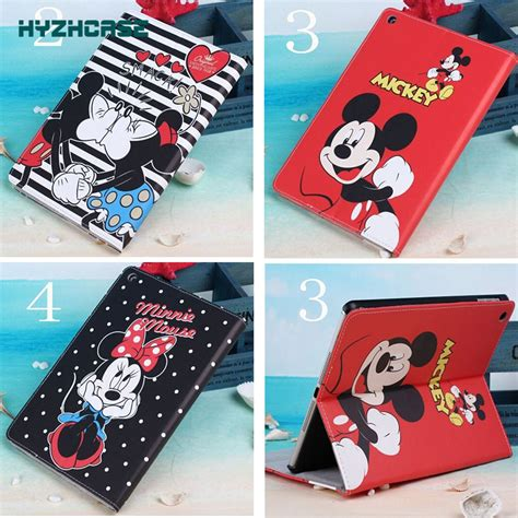 Flipshell Mickey Minnie Mouse Note 3 free shipping minnie mickey mouse flip leather pu for samsung galaxy tab 4 10 1