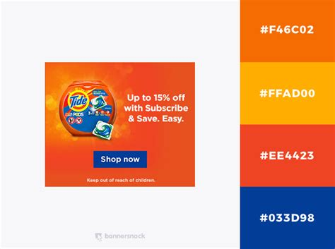 orange and blue color scheme 40 eye catching color combinations in display ads