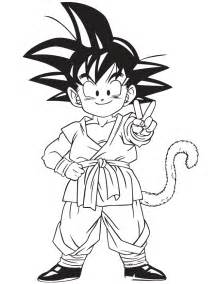 dragon ball z gohan coloring pages anime dragon colouring pages