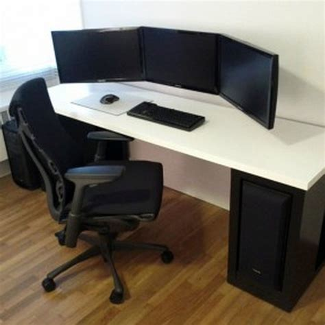 Cool Computer Desk Ideas Furniture Modern Computer Desk Ideas Swivelchair Wooden Flooring Cool Computer Desks Design