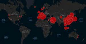 website tracks  maps  spread  coronavirus