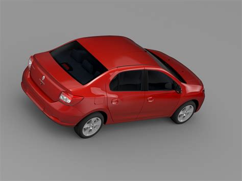 renault car models renault symbol 2015 3d model buy renault symbol 2015 3d