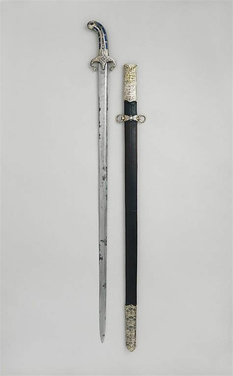 ottoman weapons 1650 1700 turkish sword and scabbard at the metropolitan
