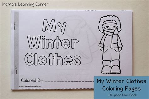 winter books winter coloring pages mamas learning corner