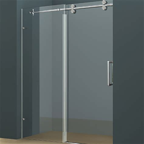 rolling shower door rolling alcove shower door r02 acritec industries
