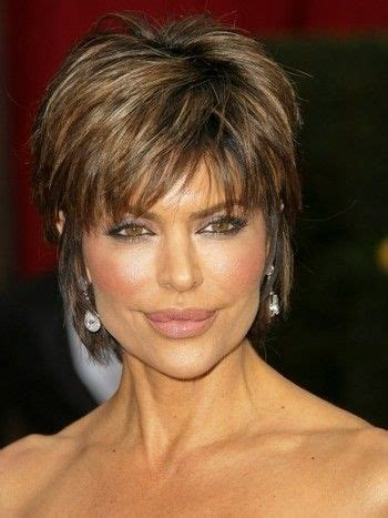 lisa rinna short hairstyles and celebrity short hair on