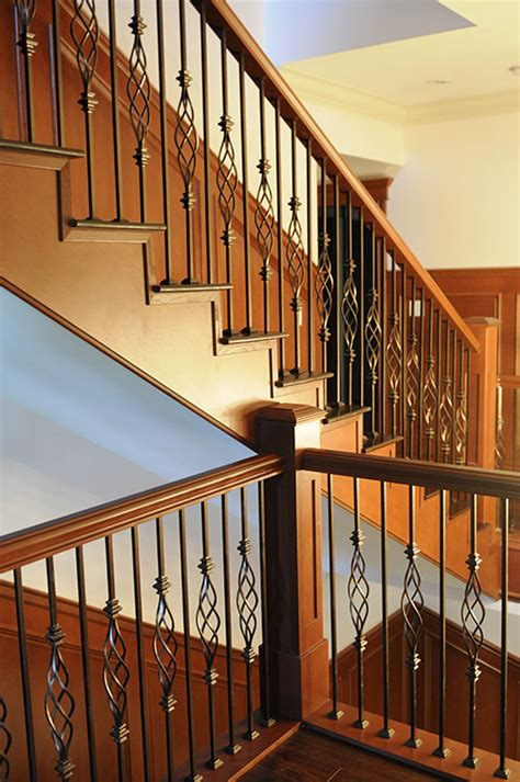 Stair Railing Custom Stairs And Railings