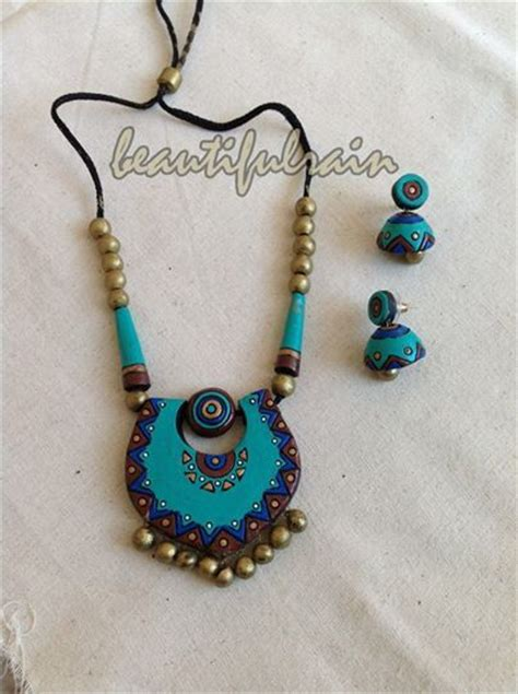 how to make terracotta jewelry terracotta jewellery terracotta jewellery