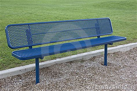 blue bench denver metal bench park bench stainless steel bench outdoor