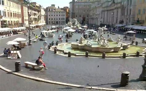 web piazza navona roma live piazza navona