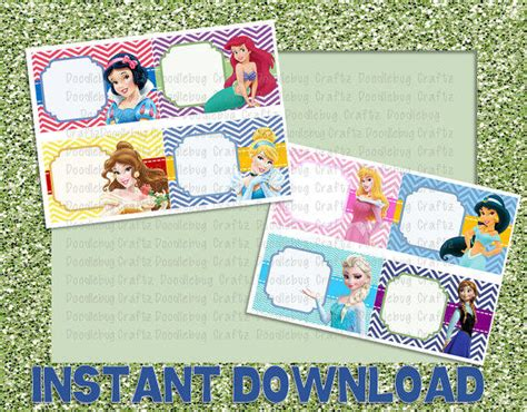 disney world autograph book template disney world princess autograph cards from doodlebugcraftz