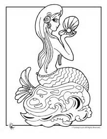mermaid colors free coloring pages of h2o mermaid