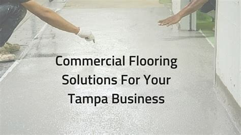 Commercial Flooring Solutions Performance Painting Jacksonville Fl Bill Zambie