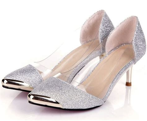 womens shoes 2015 silver shoes low heel womans