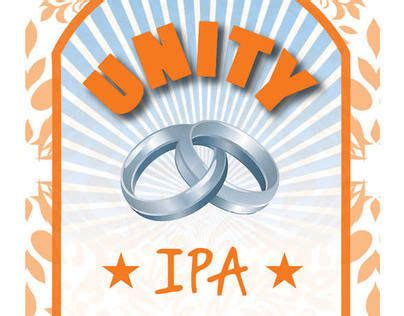 unity layout label unity beer label on behance
