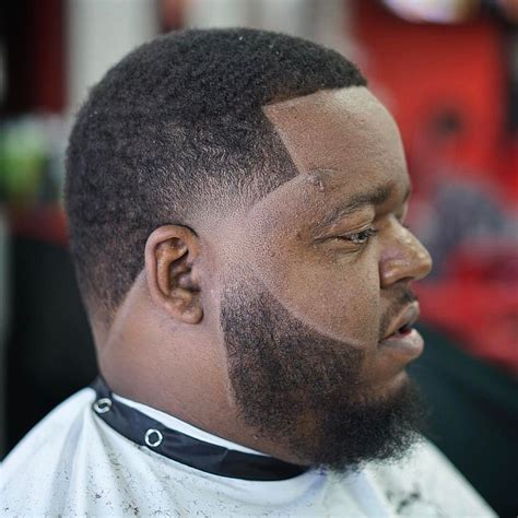 tapers for black men taper fade haircut with beard line for black men boys