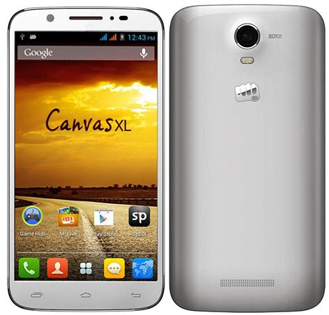 micromax mobile micromax canvas xl exclusively on homeshop18 homeshop18