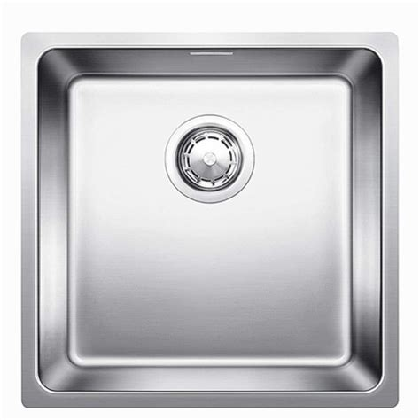 blanco stainless steel sink blanco andano 400 if stainless steel sink kitchen sinks