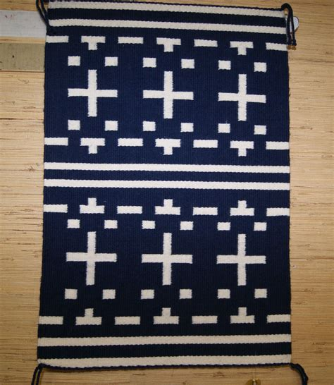 small navajo weaving