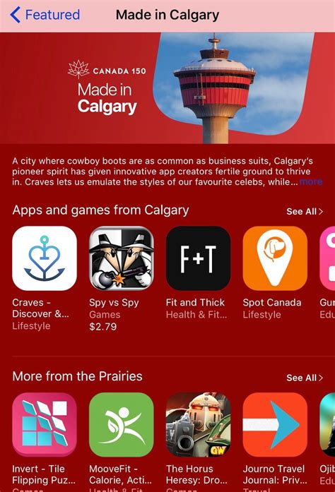 12 Of The Best Apps Made In Canada This Year Techvibes - made in calgary apple featuring locally made apps for
