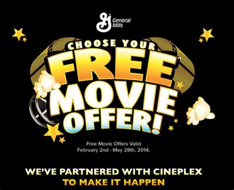 cineplex free movie offer life made delicious cineplex free movie offer