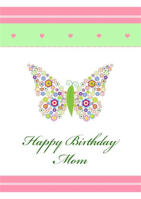 printable birthday cards to mom 5 best images of free printable birthday cards for mom