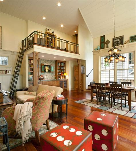 Living Room And Family Room Ideas - dice cube furnishings and rooms for a filled home