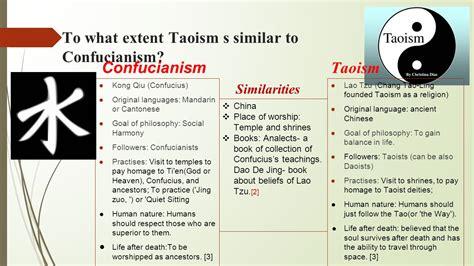 Confucianism Taoism Essays by Confucianism Vs Taoism Essay Help Lgpaperrtru Duos Me