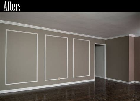 wall molding wall molding ideas wall on the right is the one that