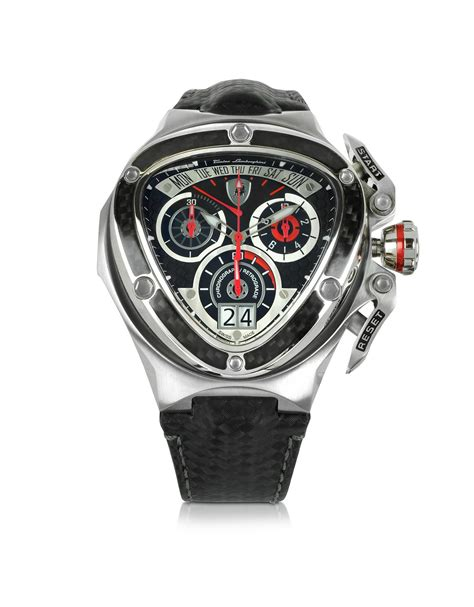 Lamborghini Advantador Chrono Stainless Steel 5 lyst tonino lamborghini and silver stainless steel spyder chronograph in