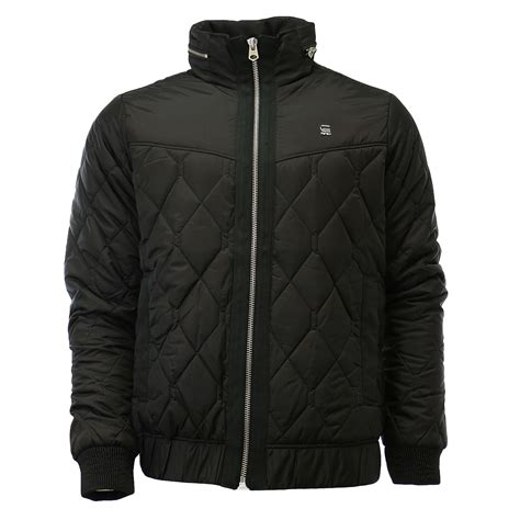 Mens Lightweight Quilted Jacket by G Meefic Utility Quilted Lightweight Overshirt Jacket
