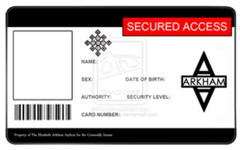 blank id card template photoshop bsaa id card template by mangapip on deviantart