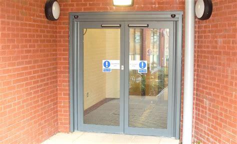 swing doors uk automatic swing doors gallery asn doors