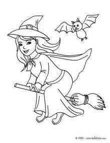 witch coloring pages happy witch flight coloring pages