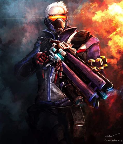 Keychain Soldier 76 Overwatch soldier 76 overwatch amino