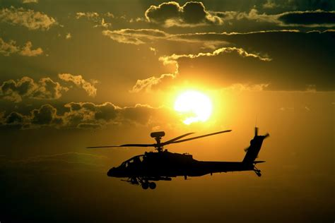 Apachi Image Hd | apache helicopters sunset hd wallpapers desktop wallpapers