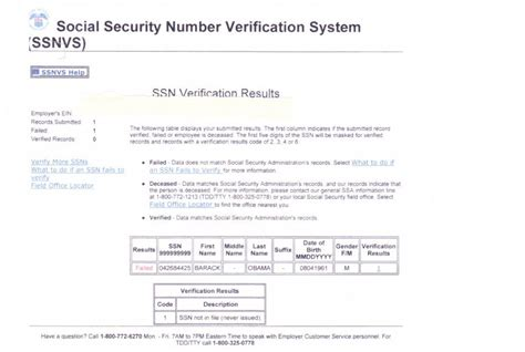 Selective Service Verification Letter barack obama s social security number actually belonged to