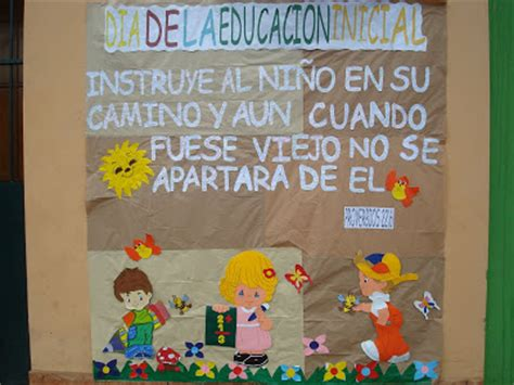 pancartas sobre la semana de la educacion inicial quot colegio anglicano sant 237 sima trinidad quot junio 2010