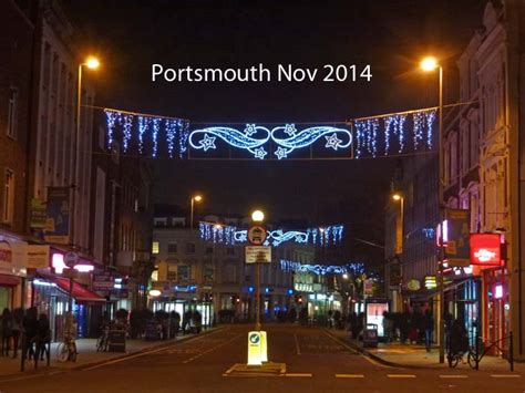 portsmouth christmas lights hampshire